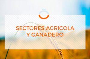Sectores agrícola y ganadero