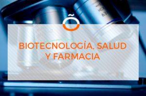 biotecnologia, farmacia y salud