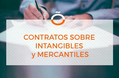 contratos sobre intangibles y mercantiles